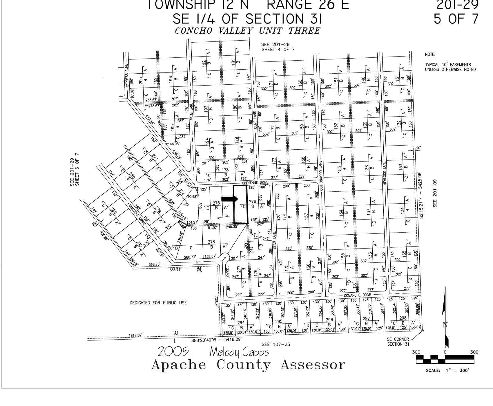 Apache County Arizona Map.Arizona Land Company Land For Sale In Apache County Apn 201 29 276c