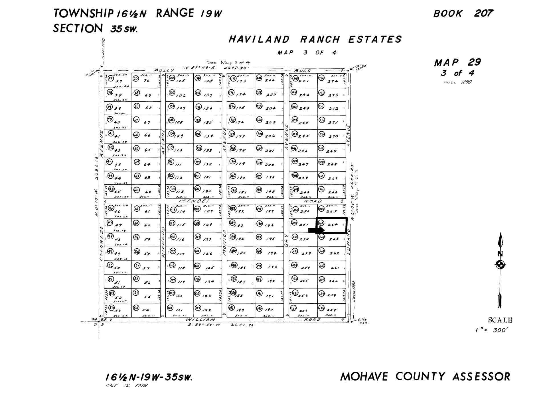 Arizona mohave county topock - Plat Map